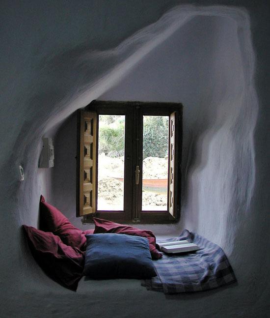 wygodne miejsce do czytania
