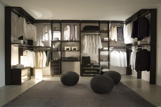 uporządkowana garderoba