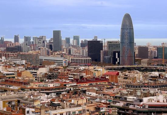 wieżowiec Barcelony