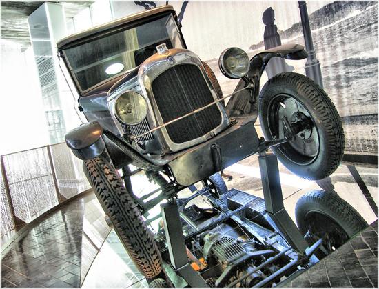 stary model Citroena
