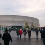 widok stadionu