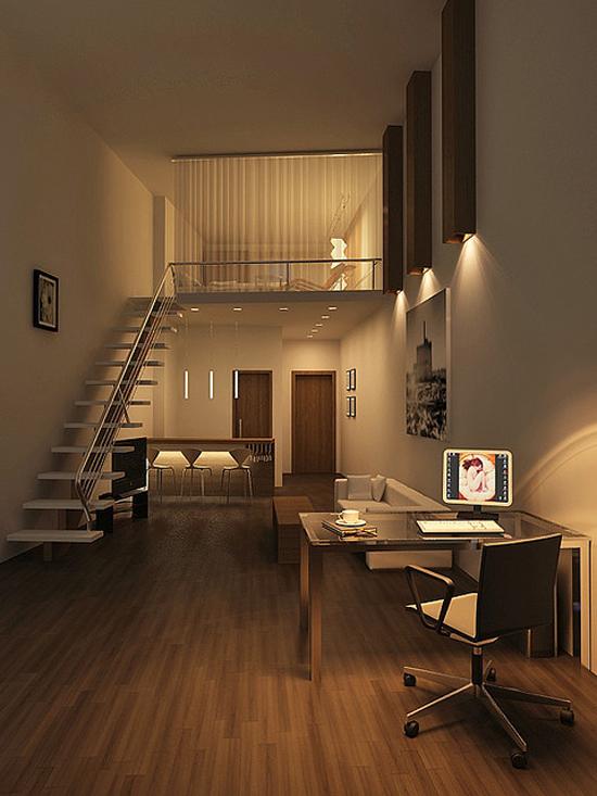 mieszkanie oświetlenie