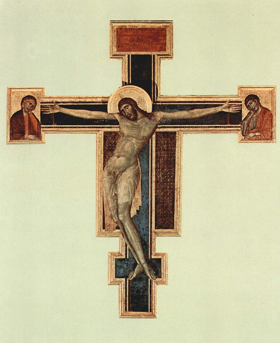 Chrystus wg CImabue