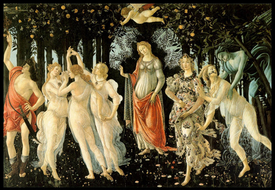 Obraz Botticelliego