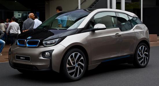 elektryczne BMW