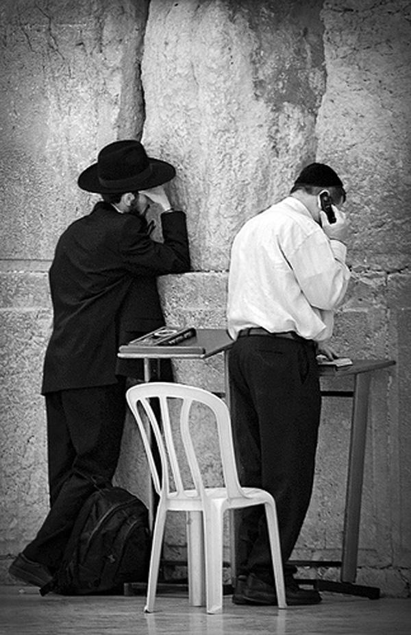 komórka i rabin