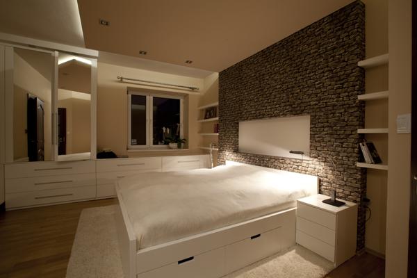 Przeprojektowana sypialnia
