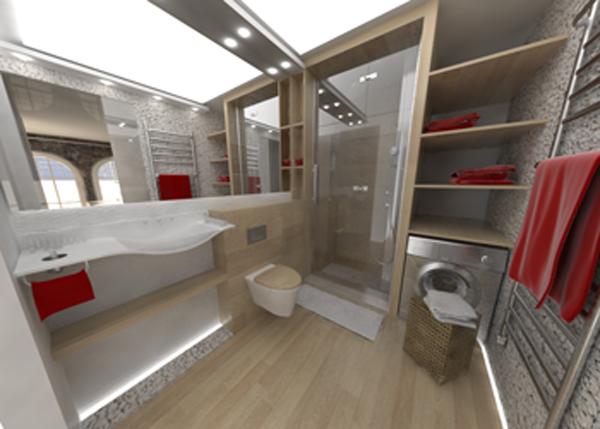 Łazienka - wizualizacja