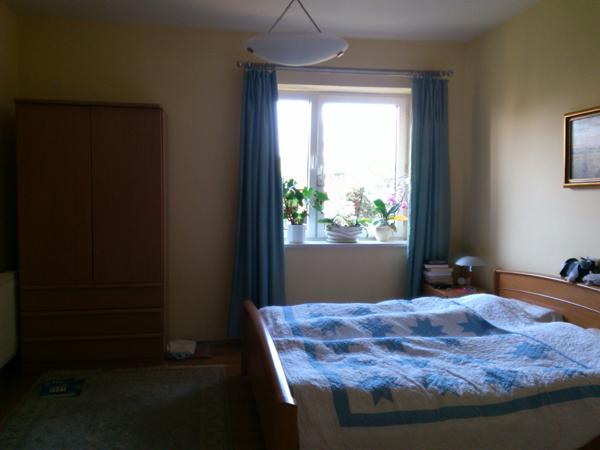 Sypialnia przed realizacją