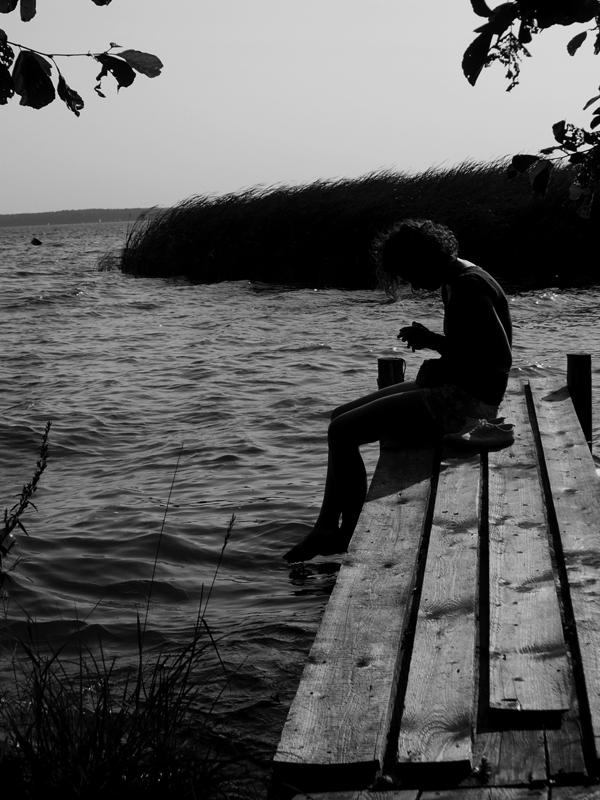 dziewczyna nad woda