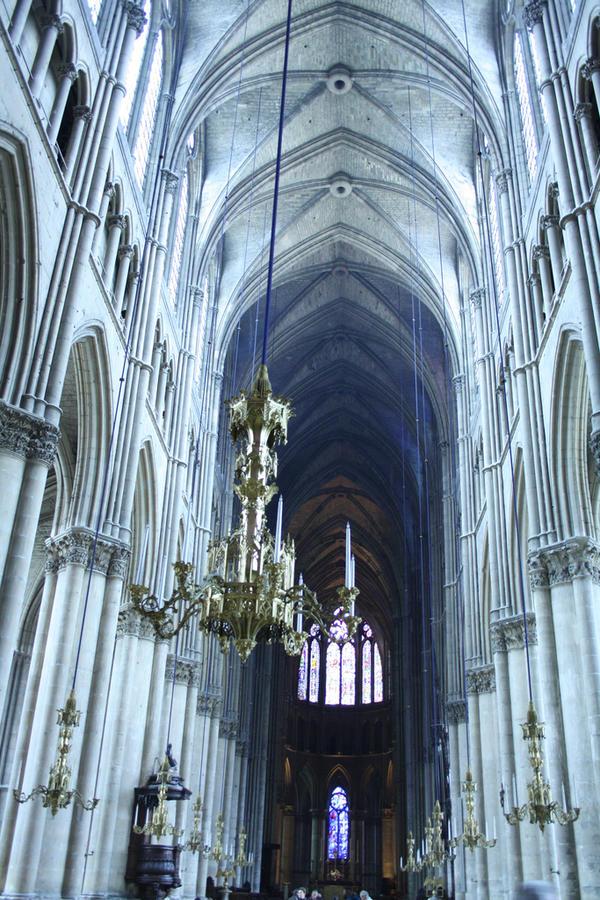 Reims katedra